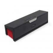 Boxa portabila SARDiNE SDY019, Bluetooth, 2 x 3W, Radio FM, 1500mAh, Negru