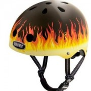 Nutcase NTG3 2126 Casco da Bici, Ring Of Fire, S