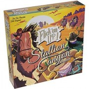 Stallion Canyon Expansion for Flick 'em Up Board Game with Cloth Drawstring Pouch _ Requires Flick 'em Up Core Game