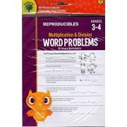 Addition and Subtraction Word Problems Reproducible Workbook - Grades 3-4