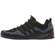 adidas Terrex Swift Solo Shoes Men core black/core black/lead 40 2/3 Trekkingschuhe