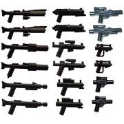 LEGO/Little Arms - 18 piezas del arma (rifles e blasteres) de Star Wars