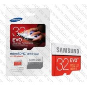 Micro SDHC card + Adapter (32GB class 10) Samsung Evo Plus 80 MB/s Speed read