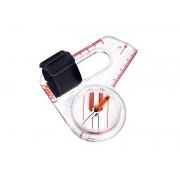 ARROW-6 Daumenkompass, für Orientierungsläufer, schnell eindrehende Kompassnadel, Millimeterskala