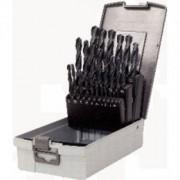 """KS Tools"" KS Tools HSS-R Spiralbohrer-Satz,25-tlg.1-13mm,Kunststoffkassette, 330.1623"