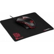 Mouse Gaming Thermaltake Esports Talon X Gear Combo 3200dpi USB + Mousepad