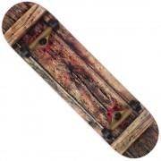 WOODSKATE Skateboard 79 x 19 cm, ABEC 7 2RS, Spokey