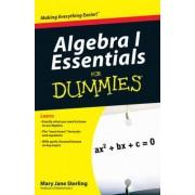Algebra I Essentials For Dummies by Mary Jane Sterling