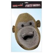 Most Famous Monkey Cardboard Cutout Mask