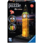 3D Puzzel - Big Ben - Night Edition (216 stukjes)