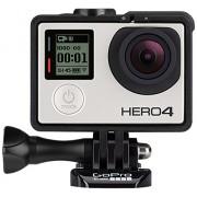 GoPro HERO4 Silver Music Edition - Videocámara deportiva (12 Mp, Wi-Fi, Bluetooth, sumergible hasta 40m), (versión italiana)