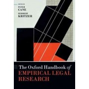 The Oxford Handbook of Empirical Legal Research by Peter Cane