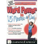 Word Power in 15 Minutes a Day by Learning Express LLC