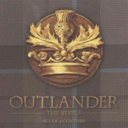 Outlander Tartan Coaster Set by Dark Horse Deluxe