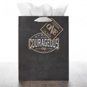Gift Bag Medium Be Strong & Courageous