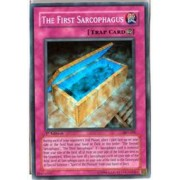 YuGiOh Ancient Sanctuary The First Sarcophagus AST-101 Rare Super [Toy]