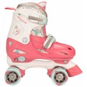 Roze verstelbare skates voor kinderen maat 27-30