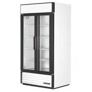 Nevera frigorífica de 2 puertas de cristal de 991 litros True CC243