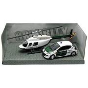 Mondo Motors - 57009emerg - miniatura veicoli - modello per la scala - Peugeot 207 con l'elicottero - Emergenze - Scala 1 / 43- casuale Modello