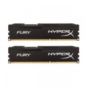 Memorie Kingston HyperX Fury Black 16GB DDR3 1866 MHz CL10 Dual Channel Kit