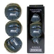 Zeekio Galaxy Juggling Ball Gift Set 3 Galaxy Juggling Balls Black