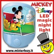 LUCE NOTTE LED DISNEY TOPOLINO MICKEY MOUSE