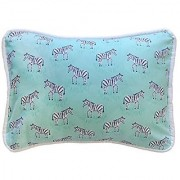 New Arrivals Accent Pillow Zebra Parade in Mint