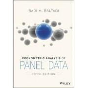 Econometric Analysis of Panel Data by Badi H. Baltagi