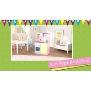 Kidkraft Fun Pastel Play Kitchen Set Playset