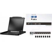 """Aten 19"""" KVM Konsole DVI mit 48,26 cm (19"""") LCD-Monitor (CL6700)"""