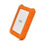 Disco Duro Externo LaCie Rugged 2.5'', 1TB, USB 3.0, Naranja/Plata, A Prueba de Salpicaduras y Golpes - para Mac/PC