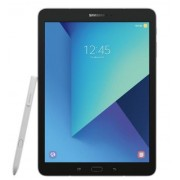 "Tableta Samsung Galaxy Tab S3 T820, Procesor Quad-Core 2.15 / 1.6 GHz, Super AMOLED Capacitive touchscreen 9.7"", 4GB RAM, 32GB, 13MP, S-Pen, Wi-Fi, Android (Negru-Argintiu) + Cartela SIM Orange PrePay, 6 euro credit, 4 GB internet 4G, 2,000 minute nationa"