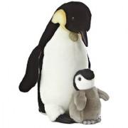 Aurora World Miyoni Emperor Penguin and Chick 14 Plush