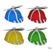 Sapca cu elice plastic 4 culori
