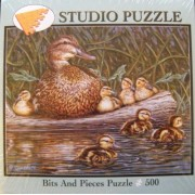 Studio Puzzle ~ On The Water - 500 Piece Puzzle by Bits and Pieces Puzzle