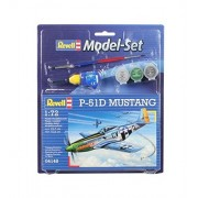 Revell 64148 - Mustang P-51D Kit di Modellismo in Plastica, Scala 1:72