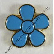 Pin Masonic FLOARE NU MA UITA