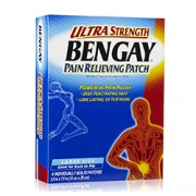 BENGAY PAIN RELIEVING PATCH (Ultra Strength) Large Size 4 Count