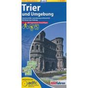 Fietskaart ADFC Regionalkarte Trier en omgeving   BVA