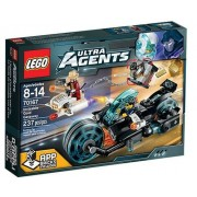 Lego Ultra Agents 70167: Invizable Gold Getaway Set New In Box Sealed #70167