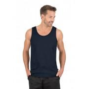 Trigema Herren Träger-Shirt 100% Baumwolle Größe: M Material: 100 % Baumwolle, Ringgarn supergekämmt Farbe: navy