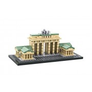 MICRO-BRICKLAND Brandenburg Gate Building Bricks Toy Sets for Kids Teens Construction Toy Building Kit, Compatible with Big Brand Micro Blocks Products, 362 Pieces