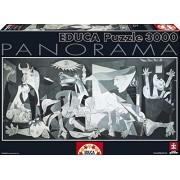 Educa - 11502 - Puzzle Adulte Panorama 3000 Guernica, Picasso