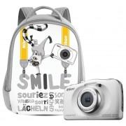 Nikon Coolpix W100 rucsac kit (alb)