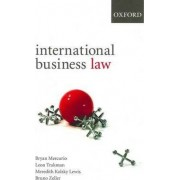 International Business Law: International Business Law by Bryan Mercurio