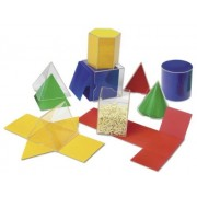 Folding Geometric Shapes, For Grades 2 And Up