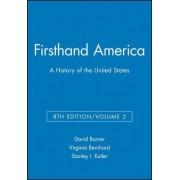 Firsthand America: v. 2 by David Burner