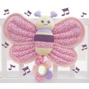 Little Bird Told Me Billowy Butterfly Music & Lights Cot Toy