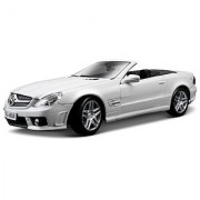 Maisto 1:18 Scale Mercedes-Benz SL63 AMG Diecast Vehicle (Colors May Vary)
