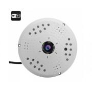 Caméra IP grand angle 360 degrés (Fisheye) 3MP / CMOS 1/2.5 pouce / ONVIF / WIFI / P2P / POE / Visualisation à distance
